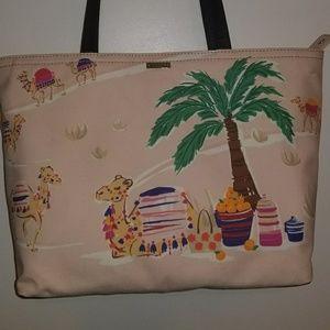 Kate Spade Pink Tote & Dust Bag NWT